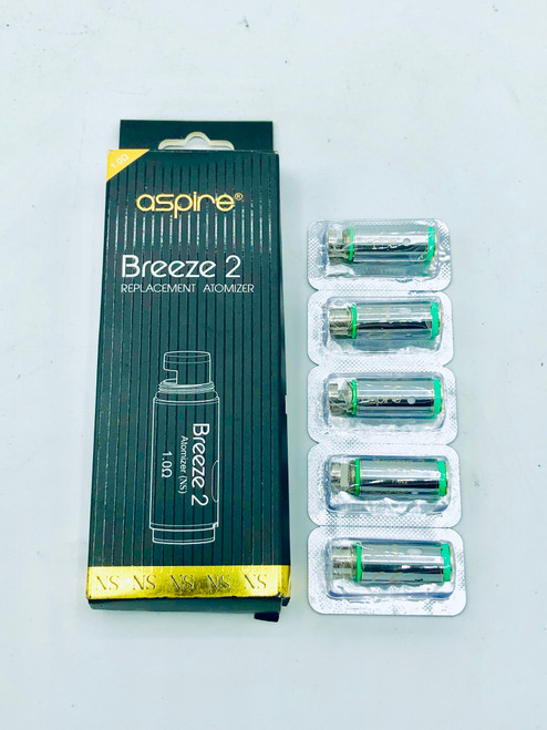 Aspire Breeze 2 Replacement U-Tech Coils(Pack of 5)-1.0ohm