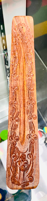 Deep Carved Wooden Boat