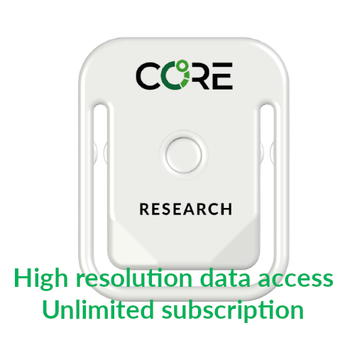 CORE for research - Subscription Flat fee