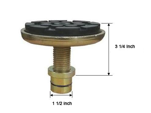W-P201730-4  Set of 4 Screw Pad Adapters (O-Ring may not be present on current models, heights may vary)