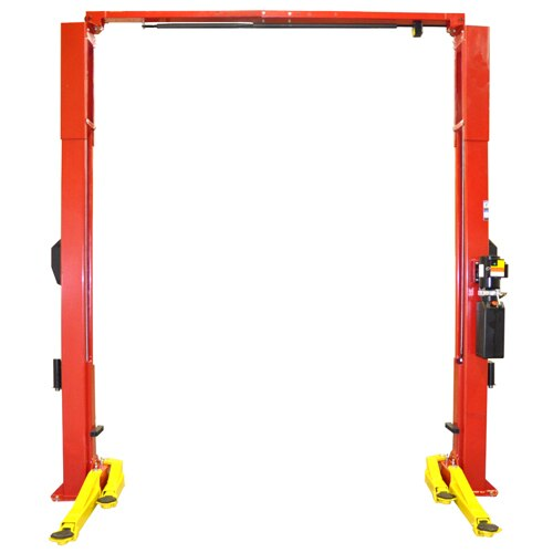 Weaver® W-Pro10  Swing Arms Swung Back for Easy Asymmetric Loading