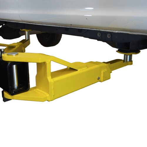 Offset 3-Stage Front Arms provide maximum flexibility with easy reach and loading for both symmetric and asymmetric vehicles.