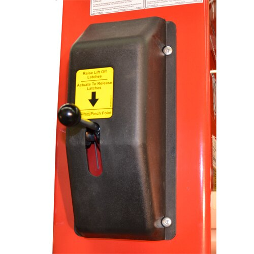 Single Point Safety Lock release handle allows complete operation from the Power Column