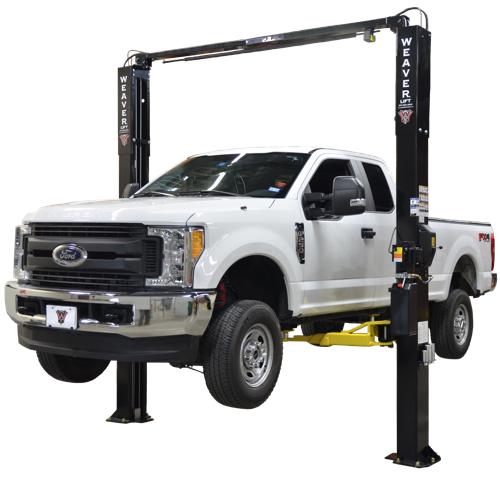 Weaver® W-Pro10 BLACK LABEL Certified Overhead 2 Post Lift