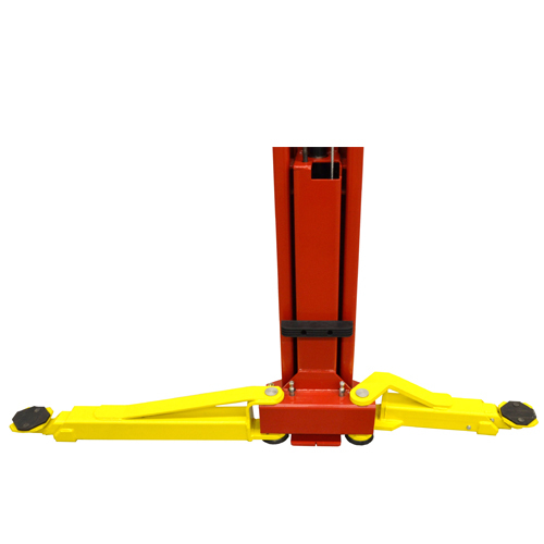 Weaver® W-Pro10 With Arms Spread Open for Symmetric Loading.