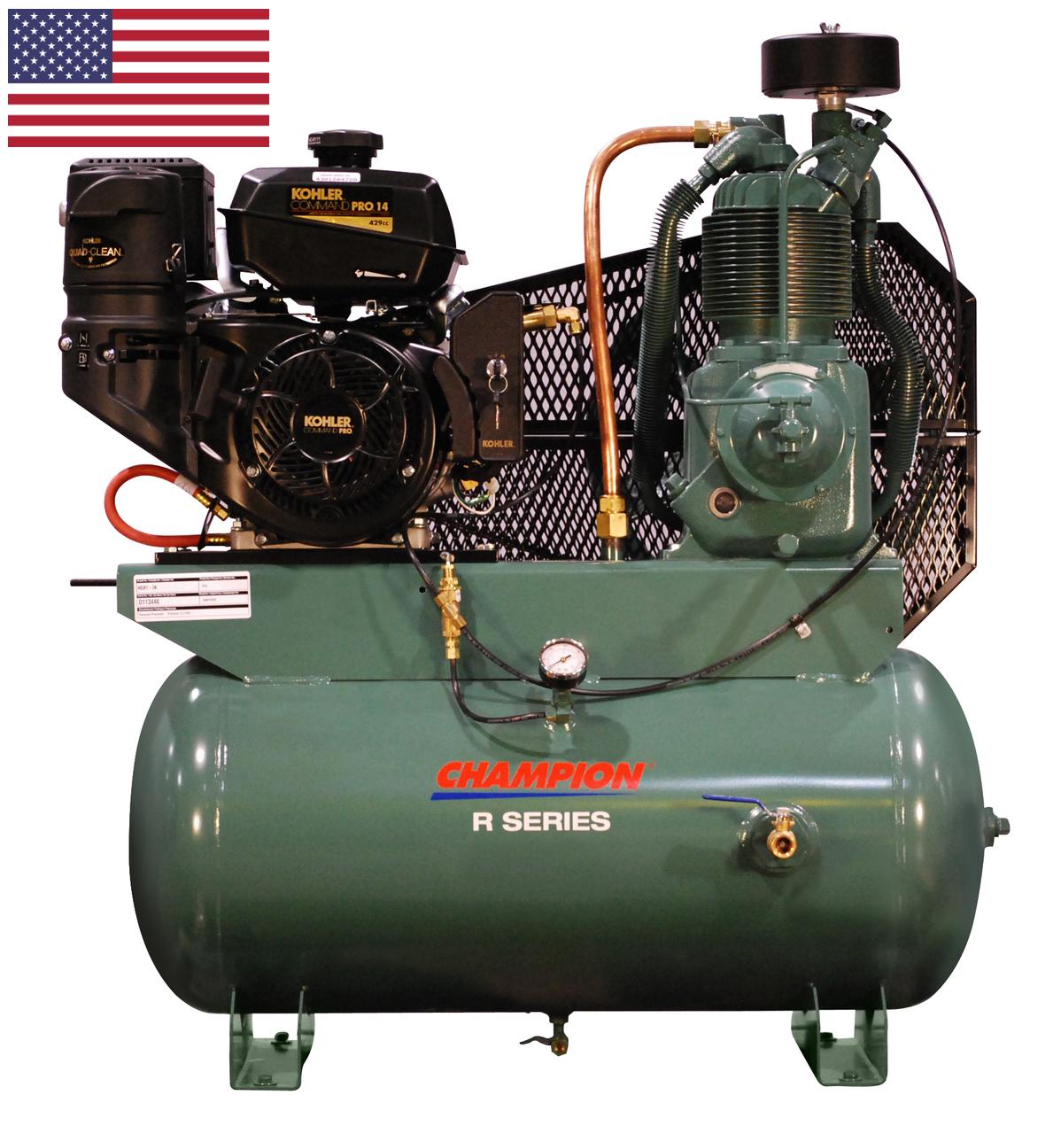 Champion® HGR7-3K Gas Engine Driven Compressor (Kohler Engine)