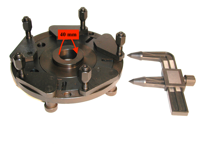 W-B-W-5000000 Universal Lug Adapter for the W-937-40 & W-957-40 Weaver® Wheel Balancers