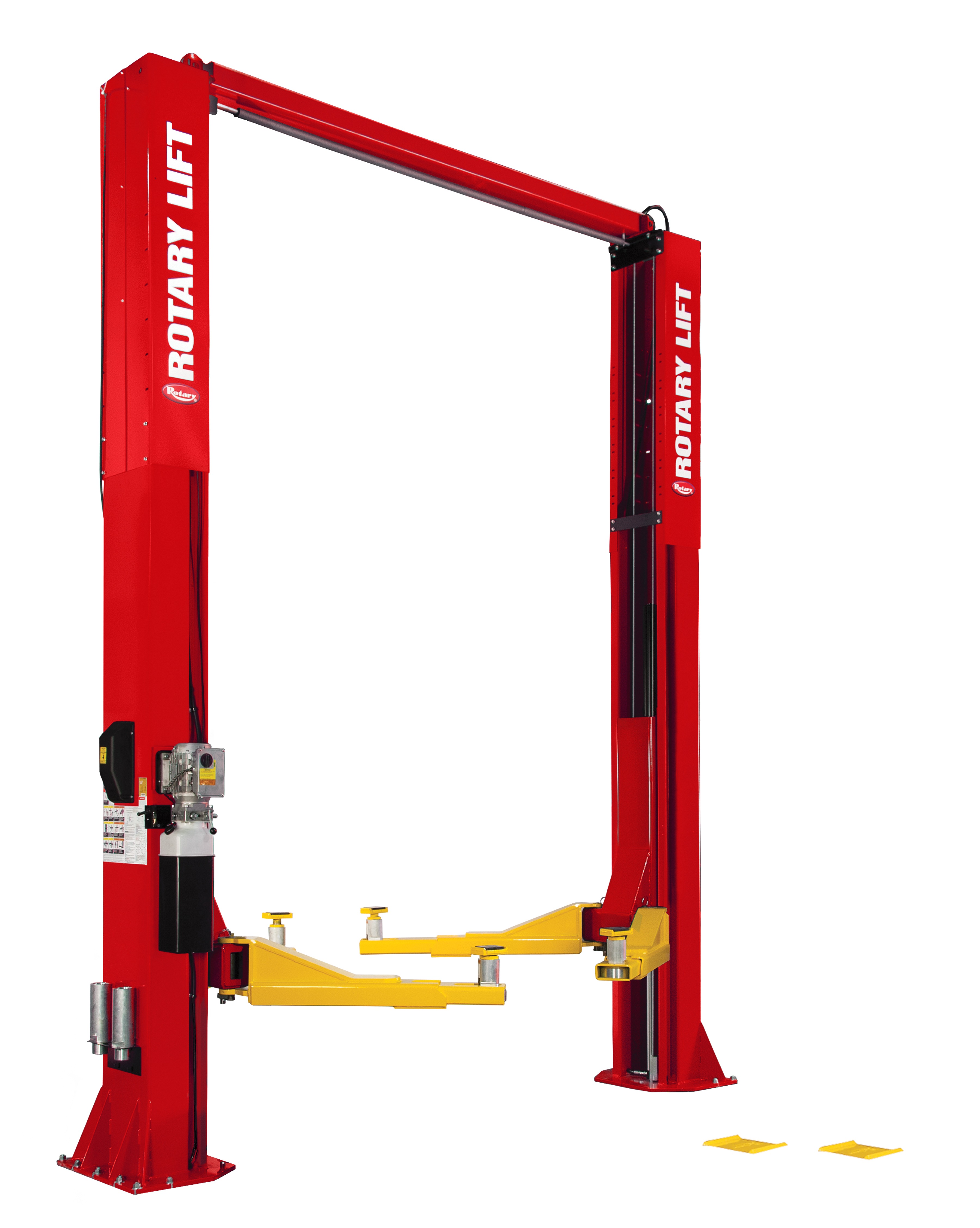 Rotary® SPO20 Trio Arms Certified Overhead 2-Post Lift RED