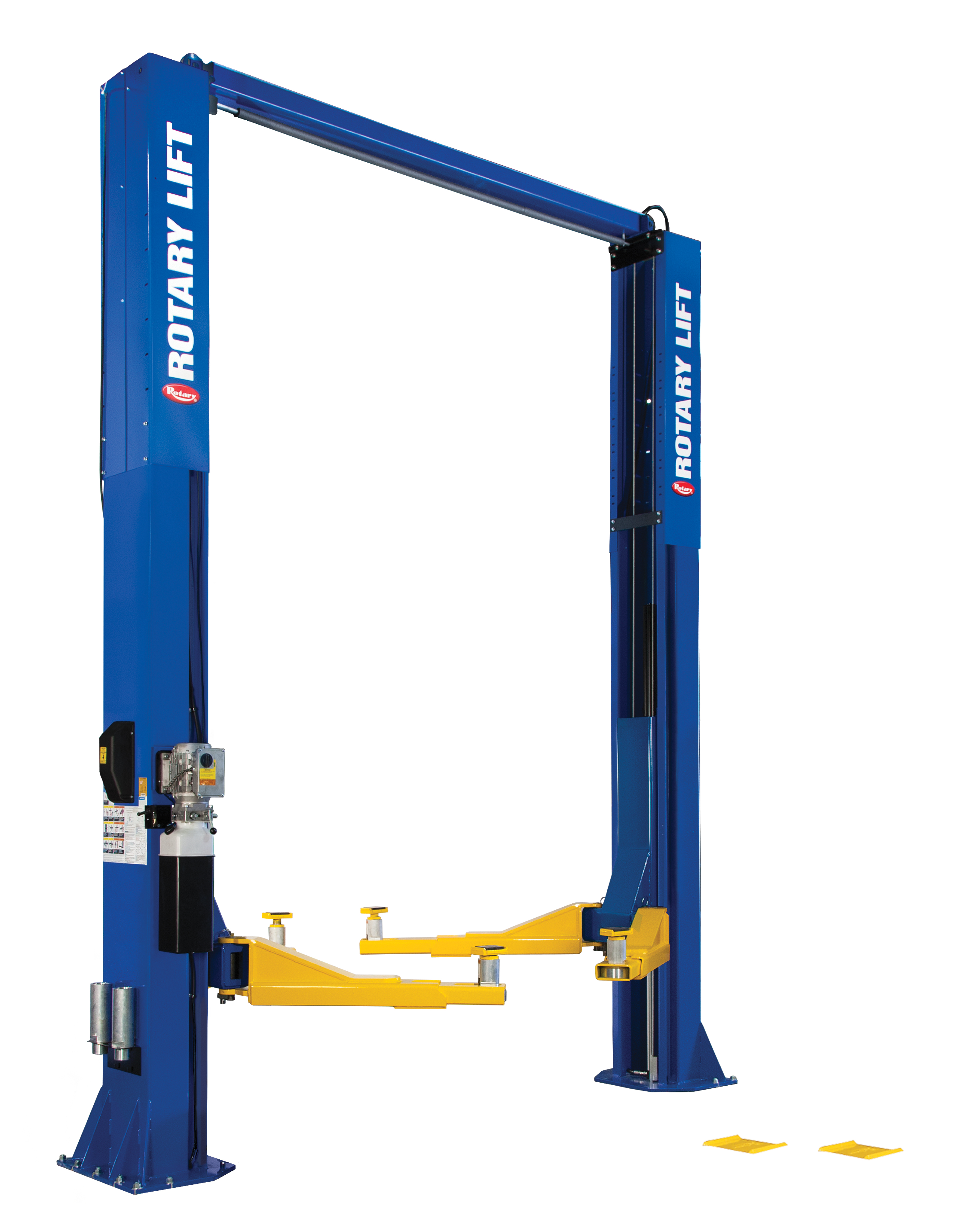 Rotary® SPO20 Trio Arms Certified Overhead 2-Post Lift BLUE