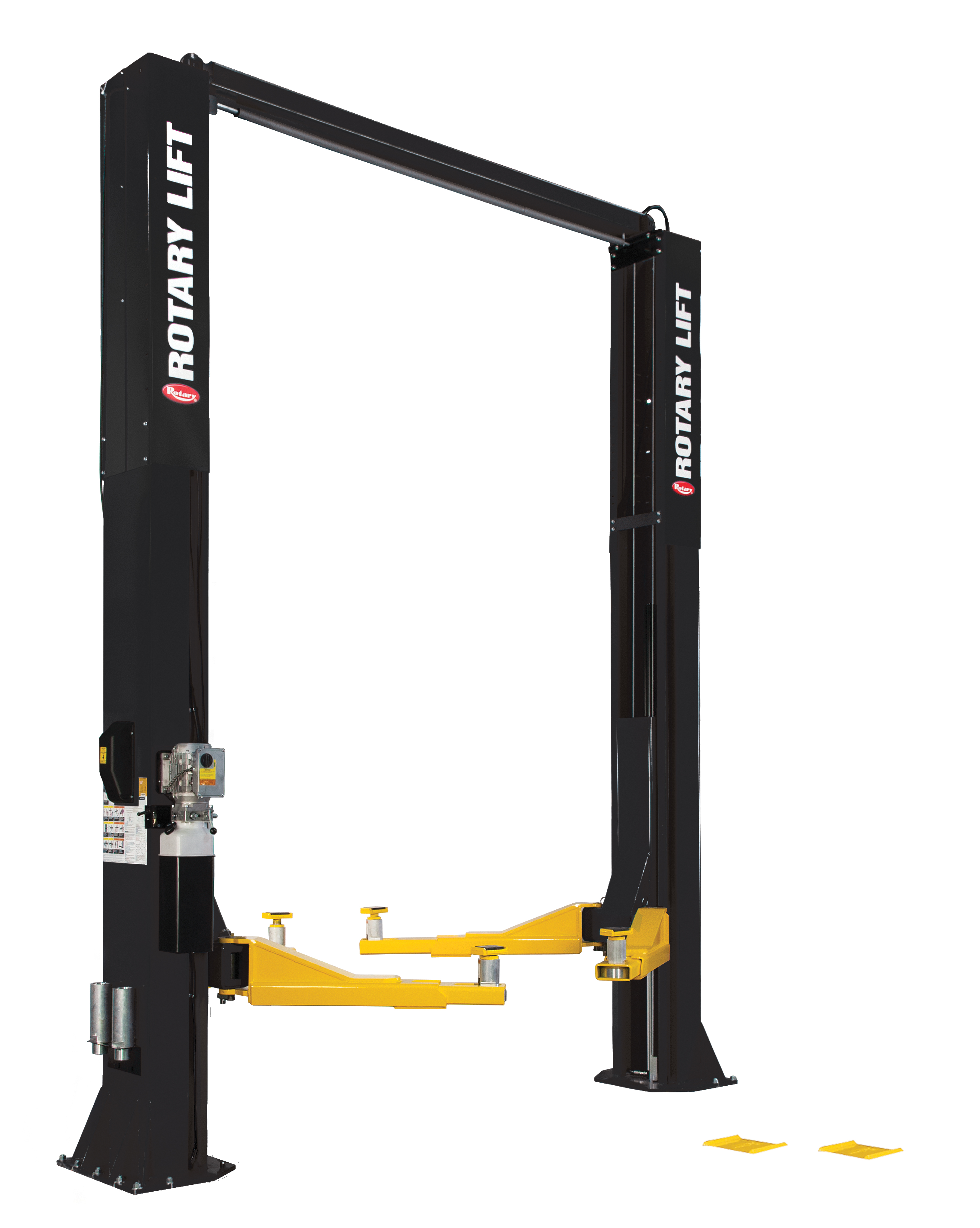 Rotary® SPO20 Trio Arms Certified Overhead 2-Post Lift BLACK