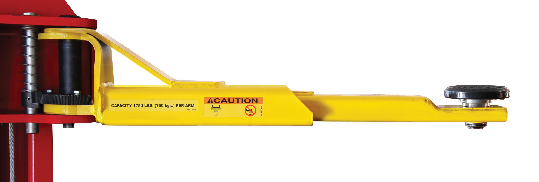 Rotary® SPOA7-LPA Certified Overhead 2-Post Lift