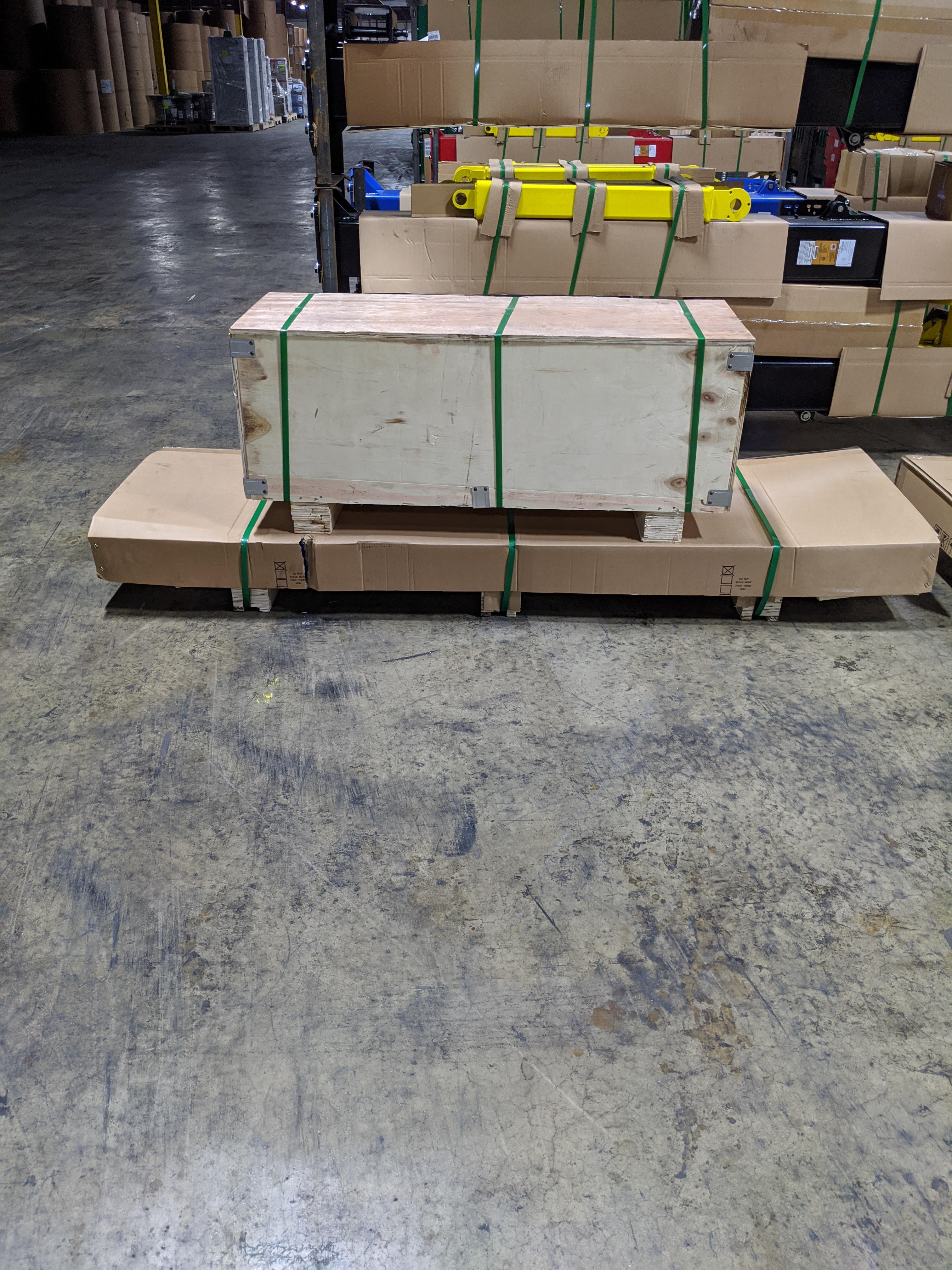 Direct-Lift® X-Force Packaged in 2 crates