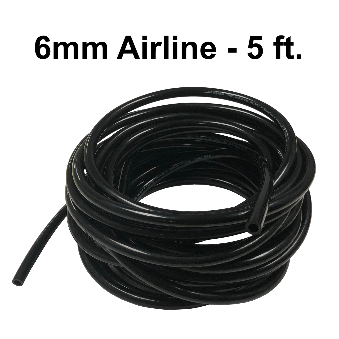 W-5509032 6mm Airline - 5 ft.