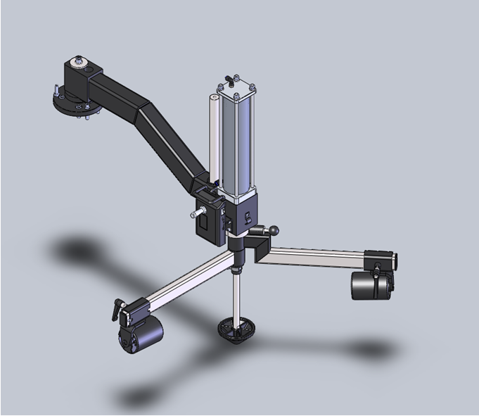 W-PL240 Assist Arm 3D