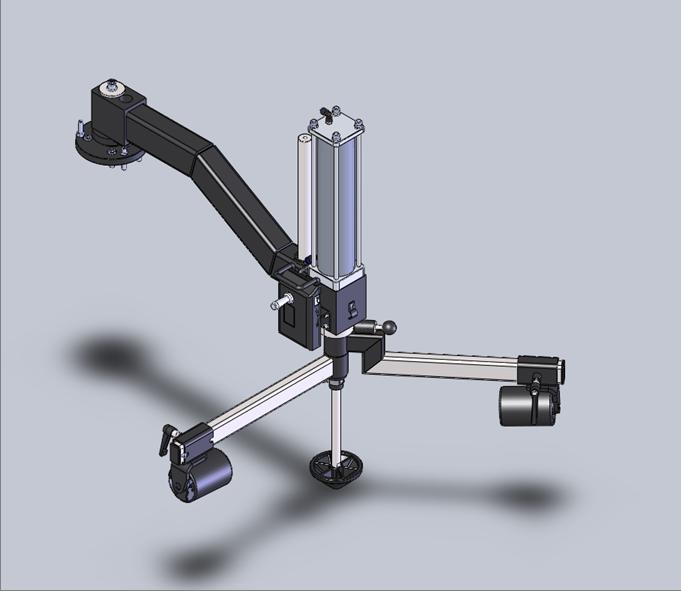 W-PL240 Assist Arm 3D