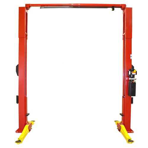 Weaver Lift W-Pro10 with arms spread open for Symmetric Loading.