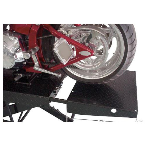 Direct-Lift Pro-Cycle Droptail Motorcycle Lift with Removing Tail