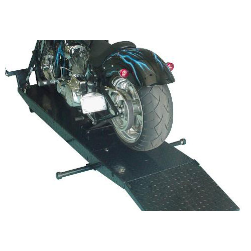 Direct-Lift Pro-Cycle Droptail Motorcycle Lift with Tail and Ramp