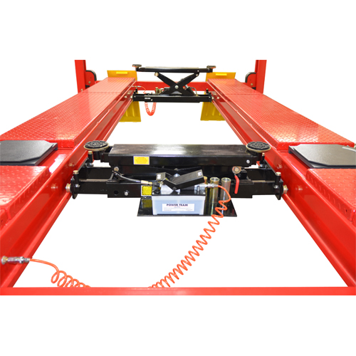 Optional W-8 Roller Jack in Lowered Position