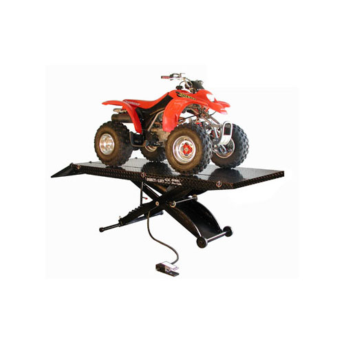 Direct Lift Motorcycle Lift with ATV Extensions