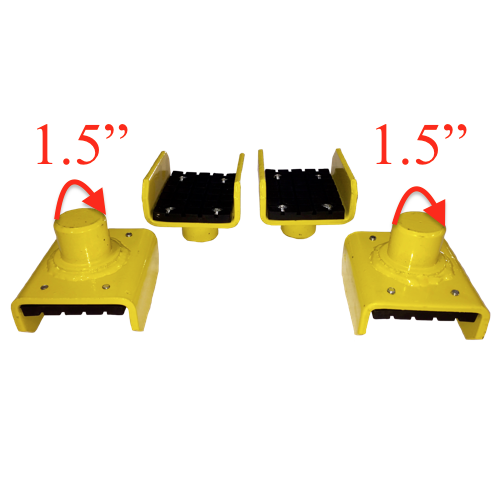 Weaver® W-P20802-4 U-Shaped Frame Adapter (Set of 4)