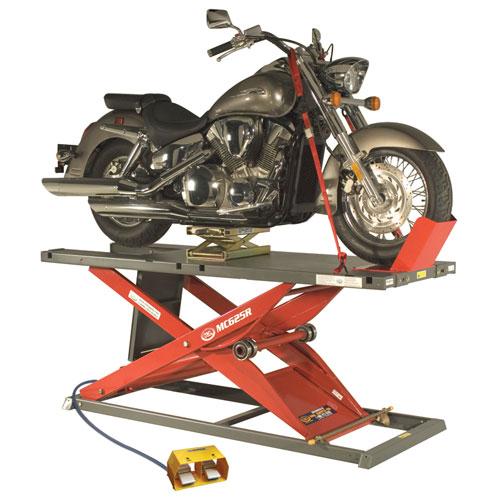 K&L MC625R Motorcycle Air Lift Red
