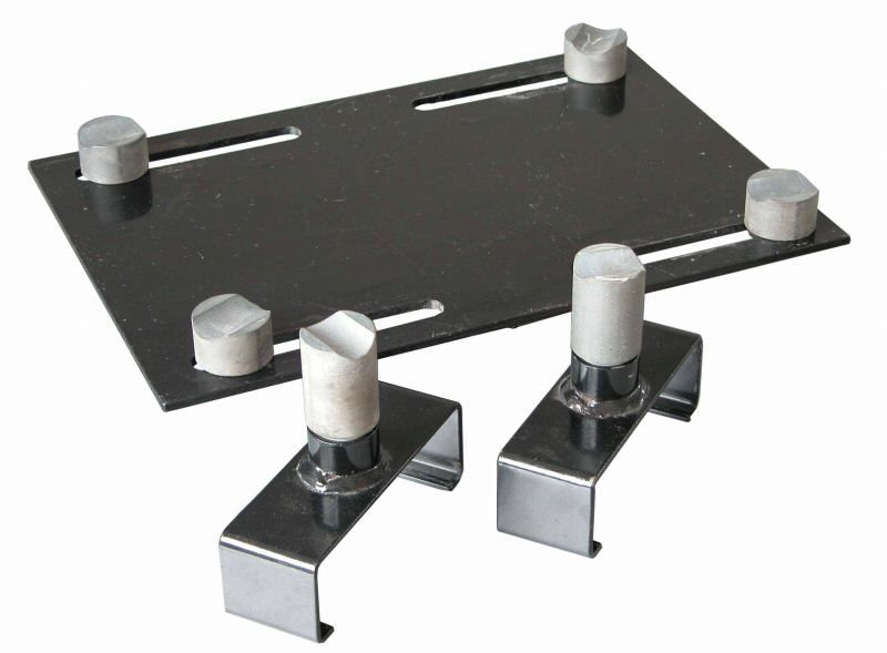 Weaver Lift W-Blackjack long adapters and adapter plate