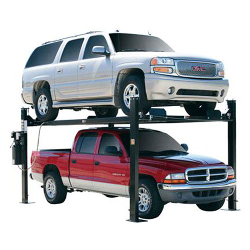 Direct-Lift Pro-Park 8 Plus with Suburban on Top and Truck on Bottom
