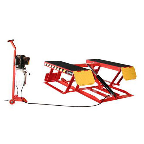 W-6PLR Portable Low-Rise Lift Raised