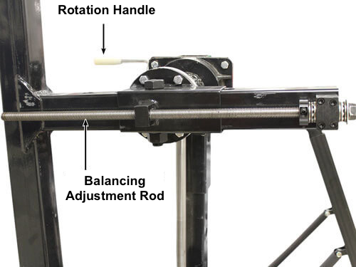 Weaver® W-Rotisserie with Adjustable Balancing Rods