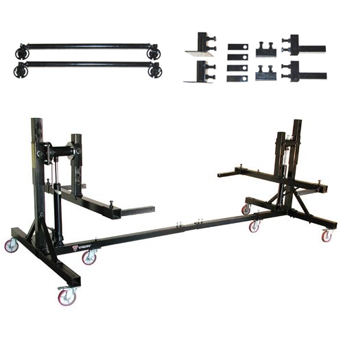 Weaver® W-Rotisserie Auto Rotisserie (adapters shown are included)