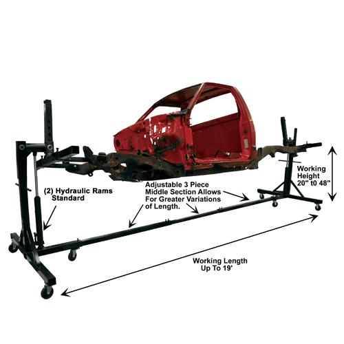 Weaver® W-Rotisserie Dimensions