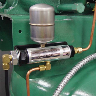 Air Compressors Champion VR5-8 Automatic Tank Drain