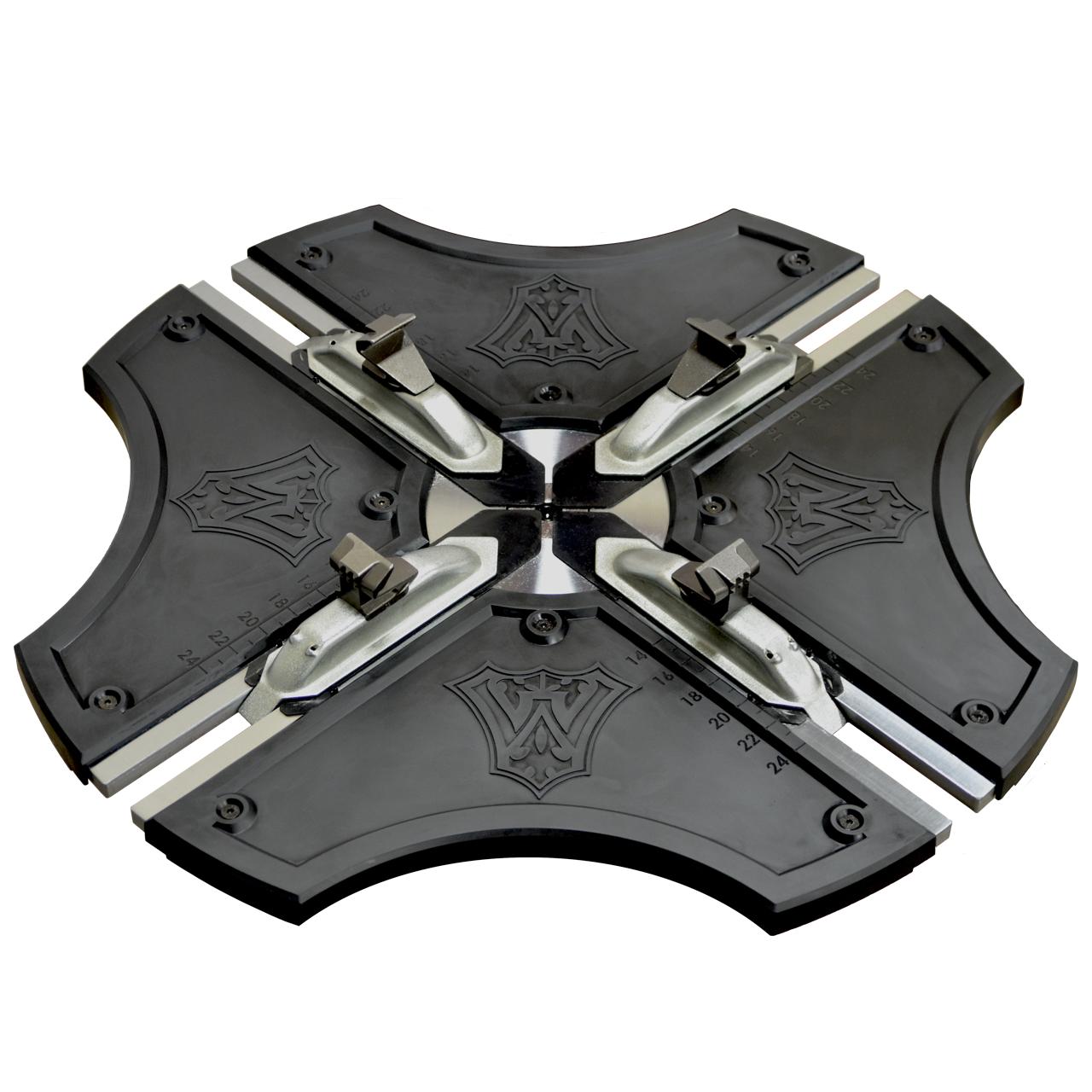 W-894XS BLACK ARMOUR™ Turntable Plastic Wheel Protection