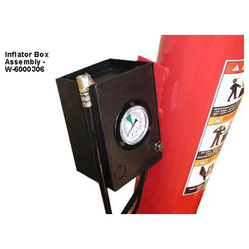W-898XS Air Tank Column with Tire Pressure Inflation Gauge