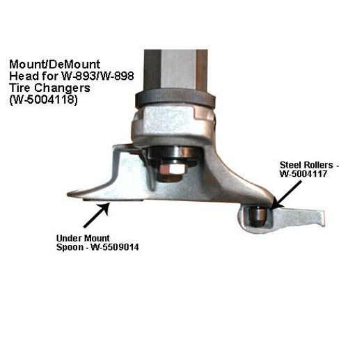 W-898XS Mount Demount Head