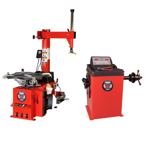 Weaver® Tire Changer / Wheel Balancer - Combo 1