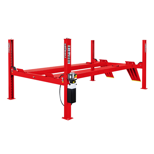 Forward Lift CR-14 4 Post Lift in Red