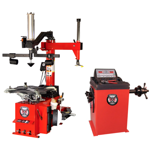 Weaver® Tire Changer / Wheel Balancer / Assist Arm - Triple Combo 1-A