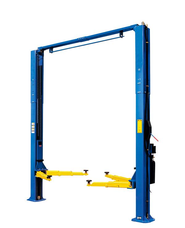 W9-3D Car Lift with Optional Blue