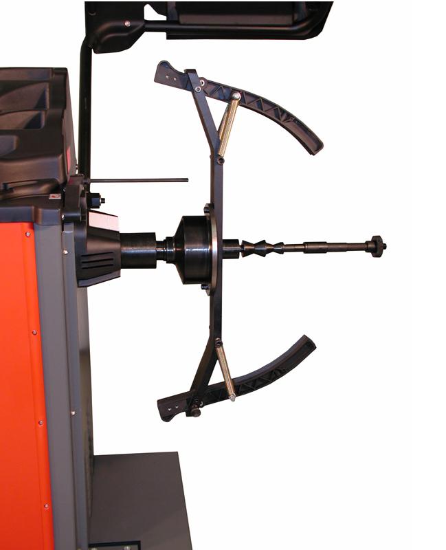 W-MJ II 977 V.2 Motorcycle Wheel Balancer Clamp/Shaft Kit for Weaver® Wheel Balancers