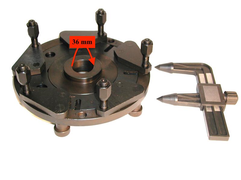 W-B-W-1000000 Universal 36mm Lug Adapter for Weaver® Wheel Balancers