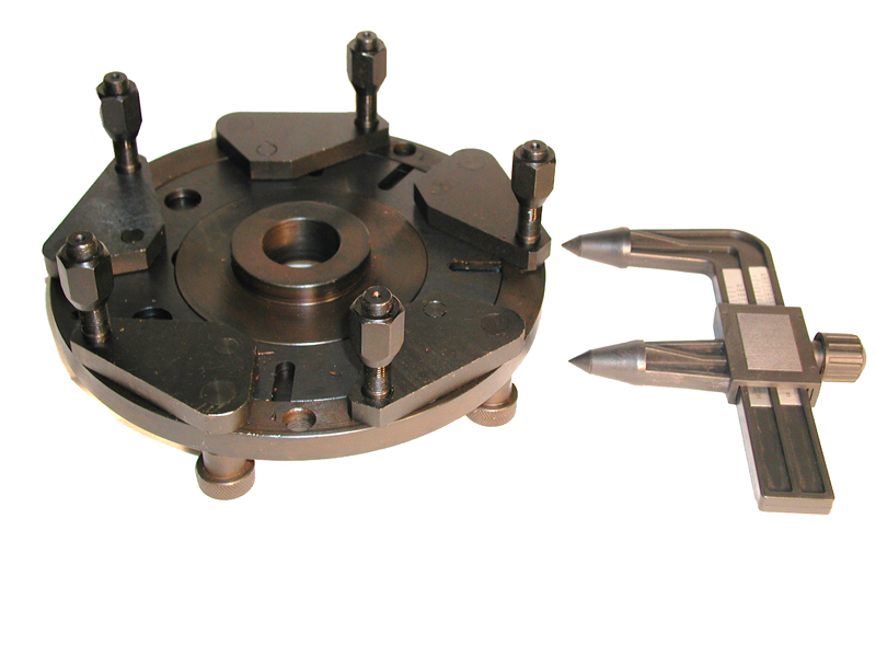 Lug Mount Adapter with Caliper for Wheel Balancer