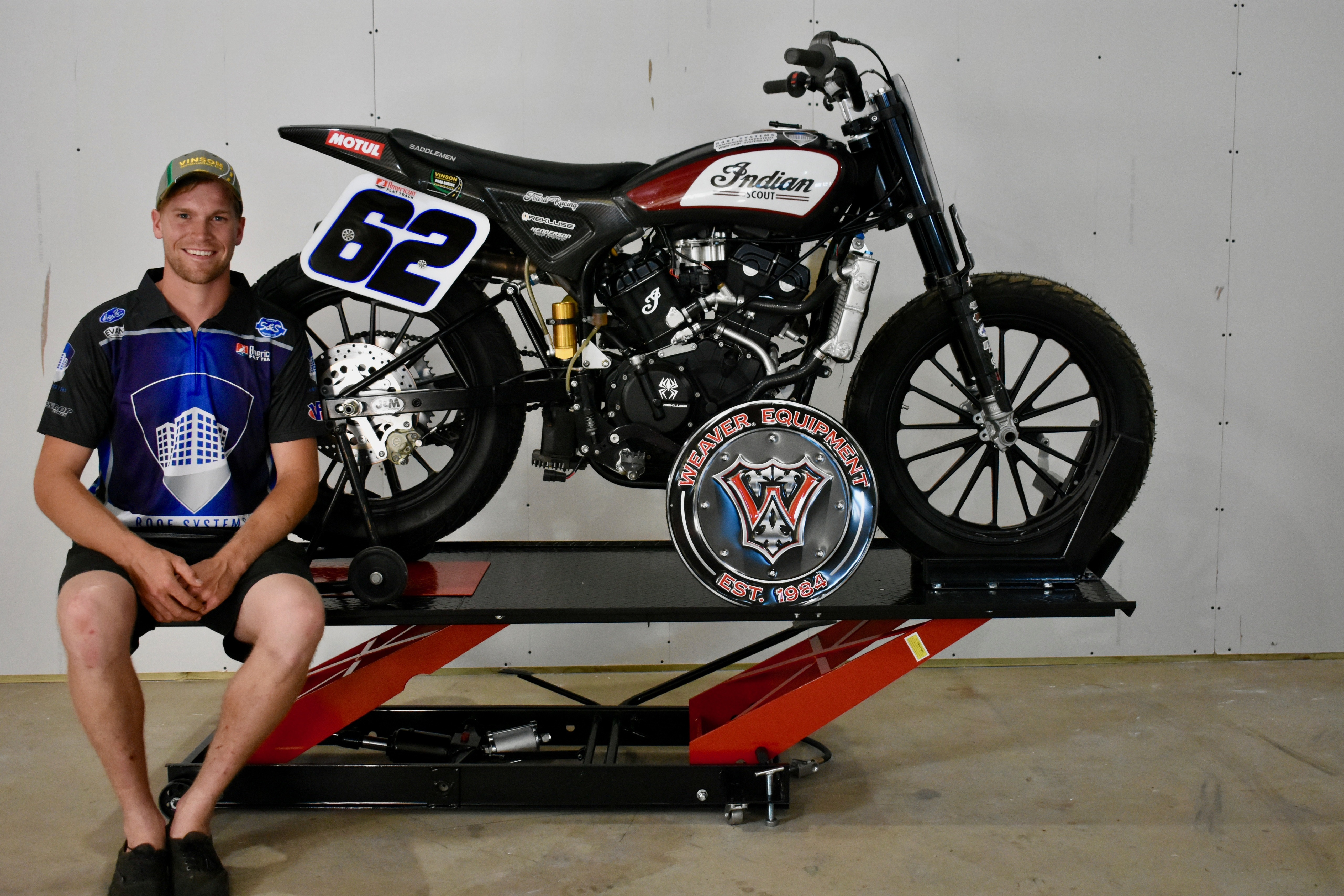 """Third-generation racer Dan Bromley ranks as one of the most consistent performers in the American Flat Track paddock regardless of class. That consistency carried him to the 2018 AFT Singles championship and brought him to within ten points of successfully defending his crown in 2019."""