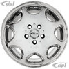 ACC-C10-6599-CHR - CHROME FINISH - 16X7.5 INCH ALLOY WHEEL - 5X112MM - DIRECT BOLT ON FOR 2WD OR 4WD BUS/VANAGON 1971-1992 - CAP AND VALVE STEM INCLUDED - HARDWARE SOLD SEPARATELY - SOLD EACH
