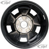 ACC-C10-6628 - BRM REP. BLK WHEEL -BUS 71-79 - VANAGON 80-92 - 15 IN. x 5.5 IN. WIDE (5X112MM) - 15 X 5-1/2 - CENTER CAP AND MOUNTING HARDWARE IS SOLD SEPARATELY  - (A20)