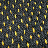ACC-C30-3770 - YELLOW & BLACK COCO FLOOR MAT SET - 4 PIECE - FITS NEW BEETLE 1998-2006 - (A10)