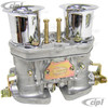 C13-47-7347 - DUAL 40HPMX EMPI CARB KIT - TYPE 2/4 - 17-2000CC BUS 72-79 ENGINES WITH HEX-BAR LINKAGE - (A30)