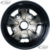 C32-FU205-4515B - POLISHED SPOKES W/BLACK BACKGOUND 911 STYLE WHEEL - 4.5X15 INCH (3.5 INCH BACKSPACE) - 5 X 205MM BOLT WHEEL - SOLD EACH