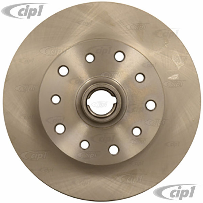 ACC-C10-6742 - CHEVY-5X130MM COMBO BOLT PATTERN FRONT DISC BRAKE ROTOR - STD BEETLE 66-77 GHIA 66-74 TYPE 3 66-2/71 - MOST COMMON DISC BRAKE CONVERSIONS - SOLD EACH